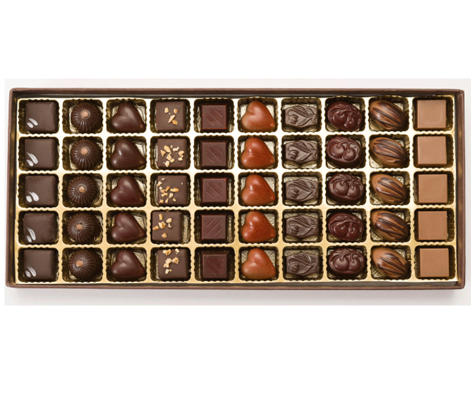 scatola 50 praline assortite