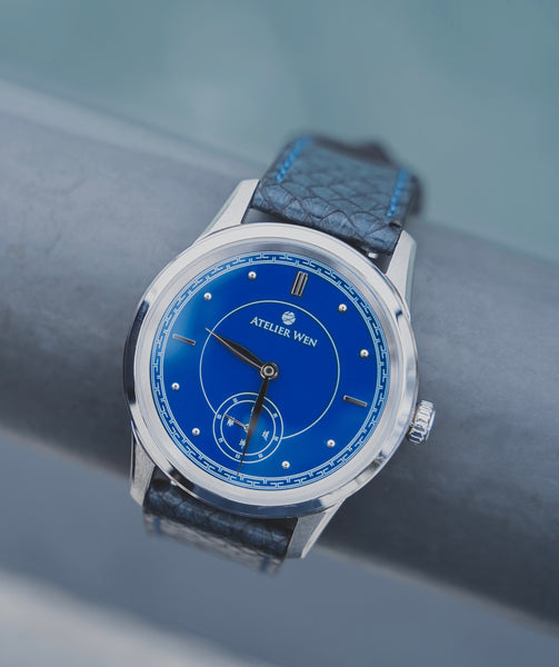 Atelier Wen - Porcelain Odyssey Ji - Best Blue Porcelain Dial Watch Under $1000