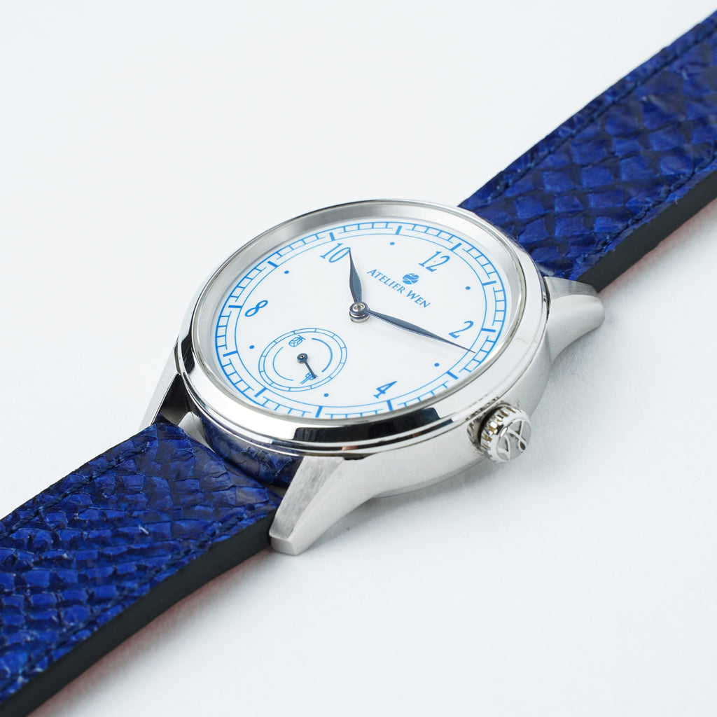 Salmon Leather Straps