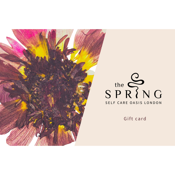 The Spring Self Care Oasis gift card afro hair skin care ethical black owned products