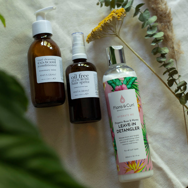 Rehydrate Trio Set The Spring Anita Grant & Flora & Curl