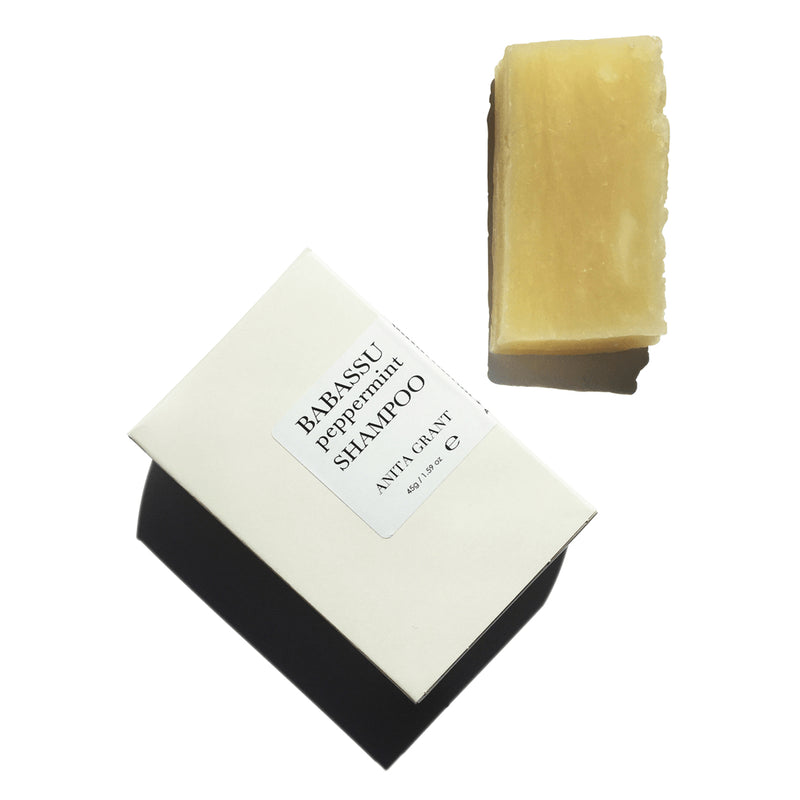 Anita Grant Babassu Peppermint Shampoo Bar 110g The Spring