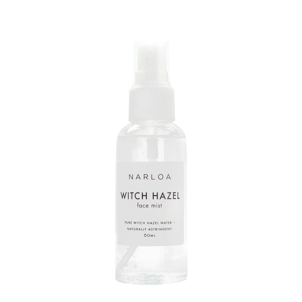 NARLOA Witch Hazel Facial Mist 60ml stocked at The Spring Self Care Oasis London