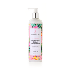 Flora and Curl Organic Rose & Honey Cream Conditioner 300ml The Spring Self Care Oasis London