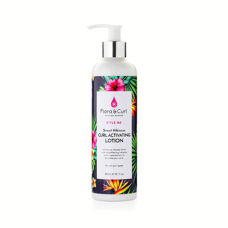 Flora and Curl Sweet Hibiscus Curl Activating Lotion 300ml The Spring