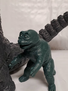 Y-MSF Gray GODZILLA 1967 SIX inch & Infant Miniya figures from Japan