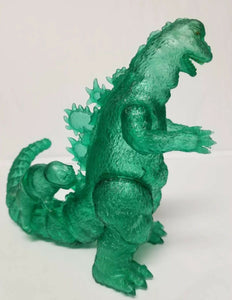 Y-MSF Translucent clear Green GODZILLA 1967 SIX inch & Infant Miniya figures