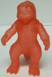 Y-MSF Translucent Clear Red Son of Godzilla  Miniya 4 inch sample figure from Japan