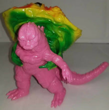 Load image into Gallery viewer, Y-MSF Rare Yellow Flying Hedorah & Pink Captured Godzilla figures from Japan