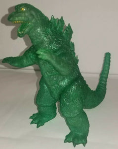 Y-MSF Translucent clear Green GODZILLA 1965 SIX inch figure from Japan