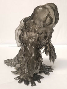 Y-MSF Translucent clear GRAY HEDORAH Final Form 6 inch figure