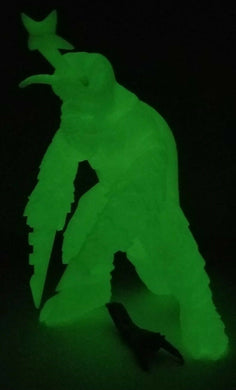 Y-MSF Glow in the Dark MEGALON 6 inch w mini Jet Jaguar figure