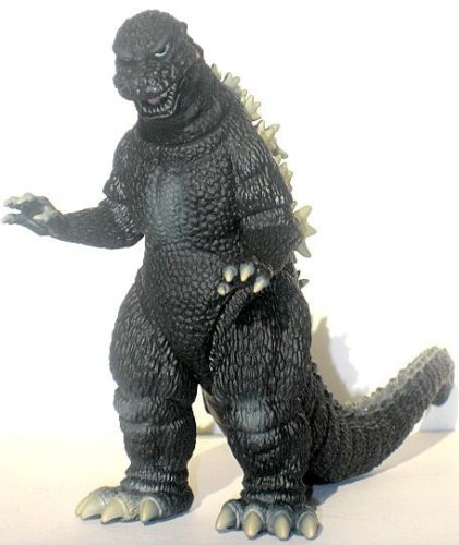 Rare Bandai Godzilla Memorial Box Godzilla 1984 6 inch figure from Japan