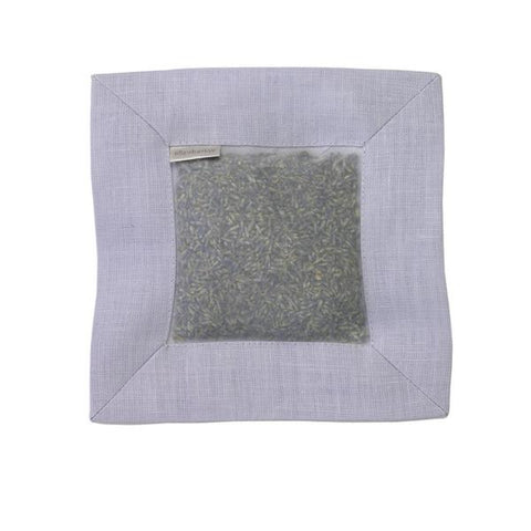Lavender Scented Linen Square Sachet in Purple