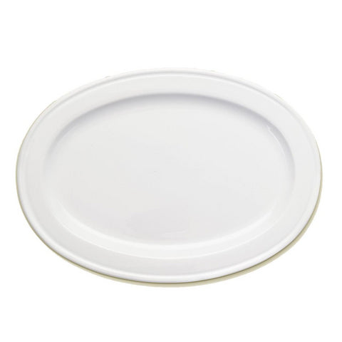 Convivio Medium Ceramic Oval Tray