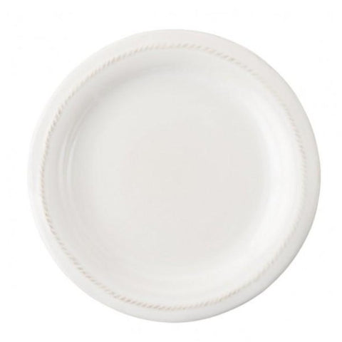 Berry & Thread Whitewash Round Canape Plate