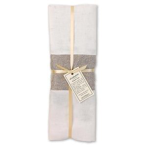 Lavender Scented Linen Drawer Liner in Ivory