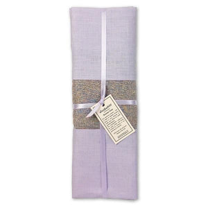 Lavender Scented Linen Drawer Liner in Purple