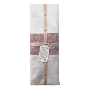 Rose Scented Linen Drawer Liner in Ivory