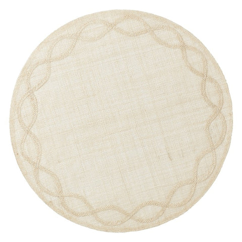 Tuileries Garden Placemat in Natural