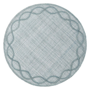 Tuileries Garden Placemat in Ice Blue
