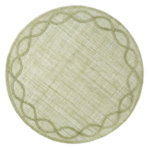 Tuileries Garden Placemat in Pistachio
