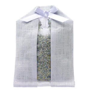 Lavender Scented Linen Hanger Sachet in Purple