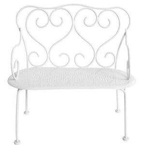 Romantic Bench in Off-White
