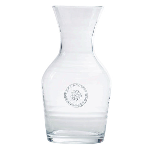 Berry & Thread Glassware Wine Carafe