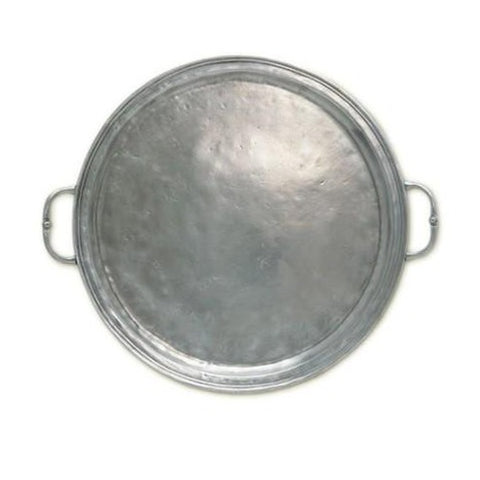 Small Round Tray with Handles