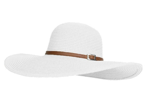 Jemima Hat in White