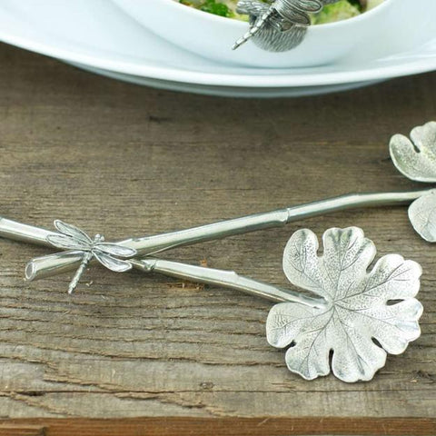 Dragonfly Salad Serving Set
