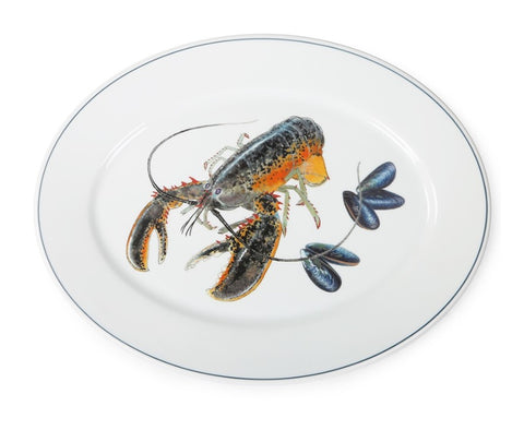 American Lobster Oval Platter