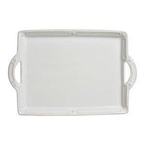 Berry + Thread French Panel Handled Tray