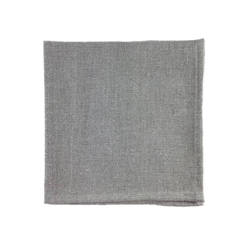 Pepite Glittered Linen Napkin in Gypse