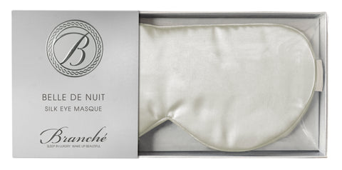 Belle de Nuit Eye Masque in Ivory