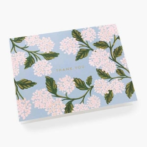 Hydrangea Thank You Card