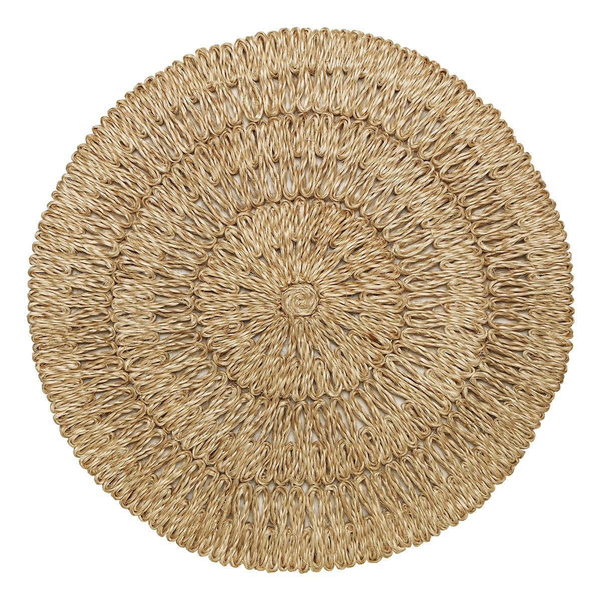 Straw Loop Natural Placemat