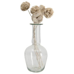 Capelli Vase in Clear Glass