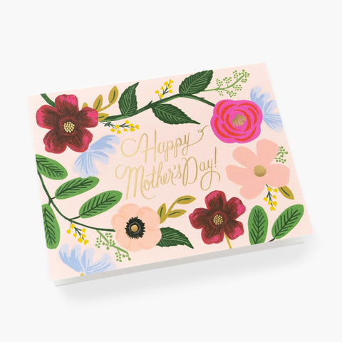 Wildflower Mother's Day Card