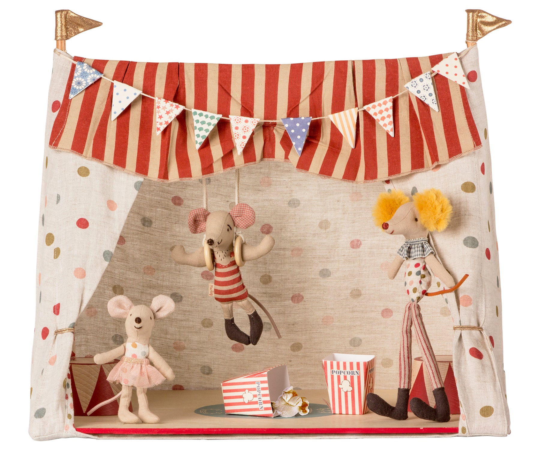 Circus Tent with 3 Mice