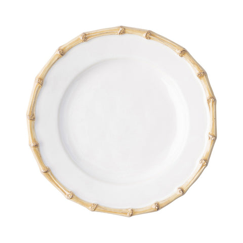Classic Bamboo Cocktail Plate