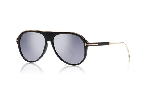 Nicholai Aviator Injected Sunglasses