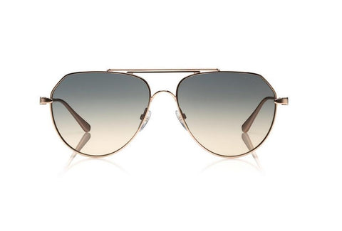 Andes Aviator Metal Sunglasses