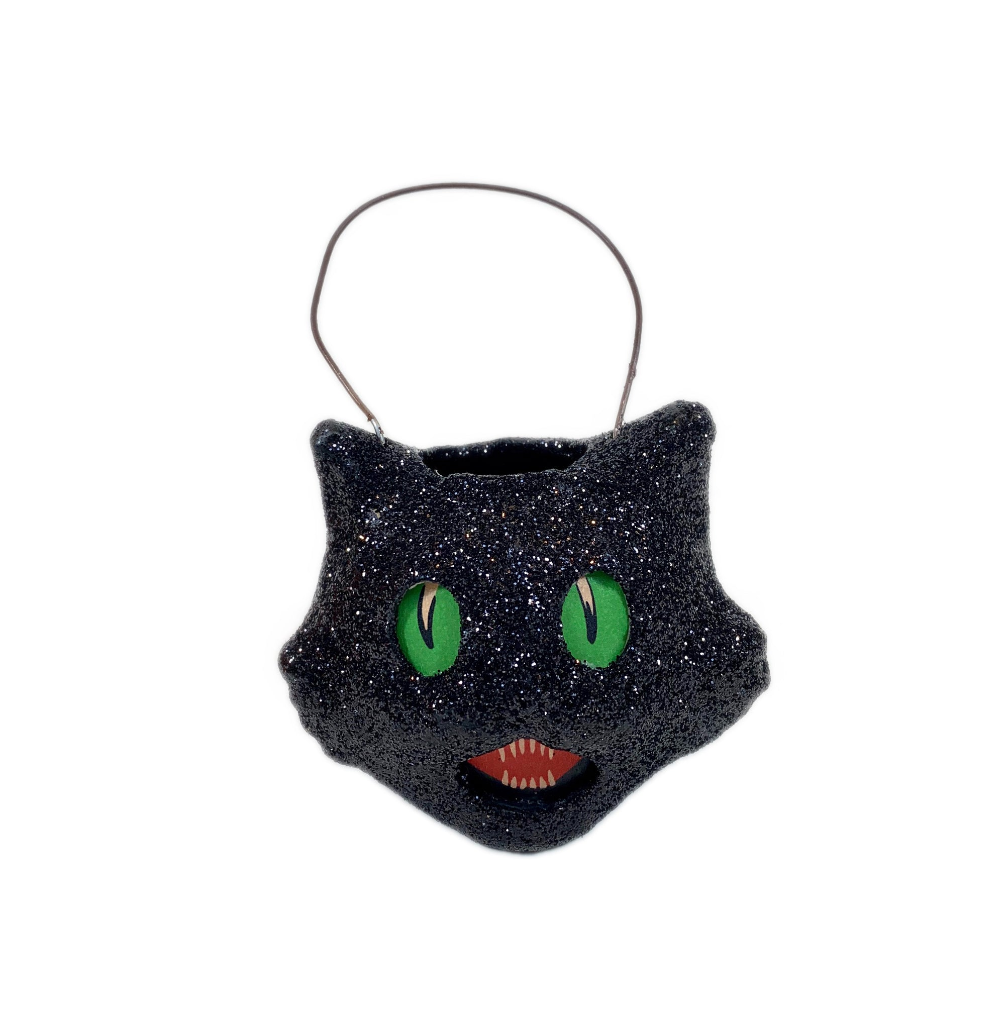 Mini Cat Glittered Bucket