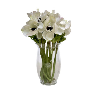 Spotswood Clear Glass Medium Vase