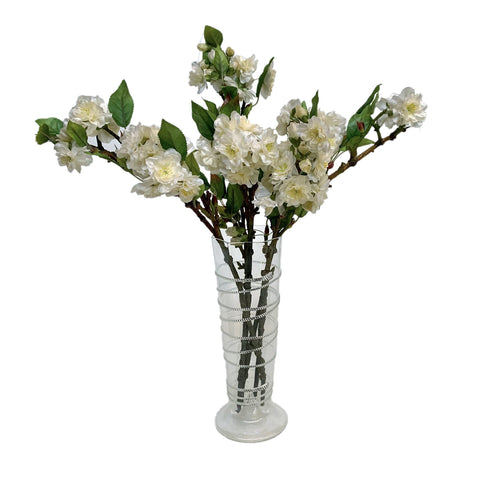 Reny Clear Glass Pillar Vase