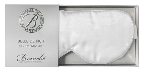 Belle de Nuit Eye Masque in White