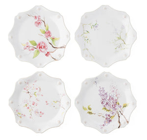 Berry & Thread Floral Sketch Dessert Plate