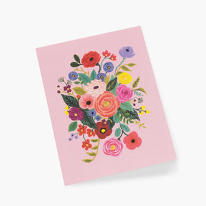 Garden Party Everyday Card in Rose